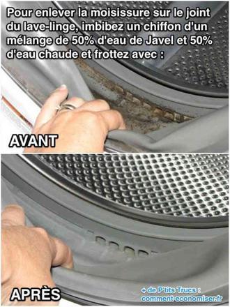 nettoyer intérieur machine à laver