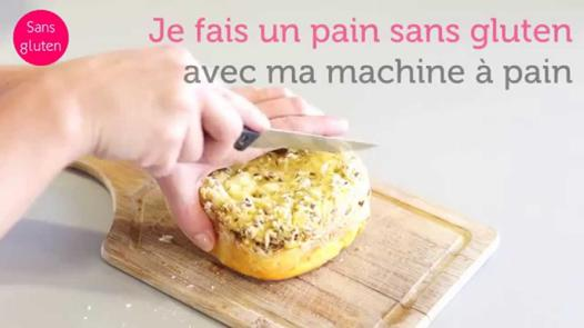 pain sans gluten machine à pain moulinex