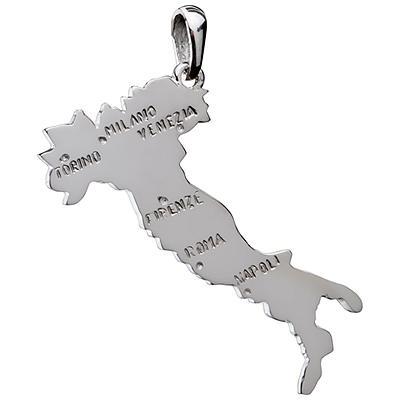 pendentif italie argent