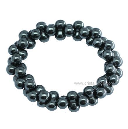 pierre noire semi precieuse