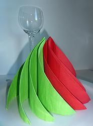 pliage de serviette de table