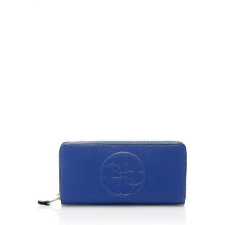 portefeuille femme bleu