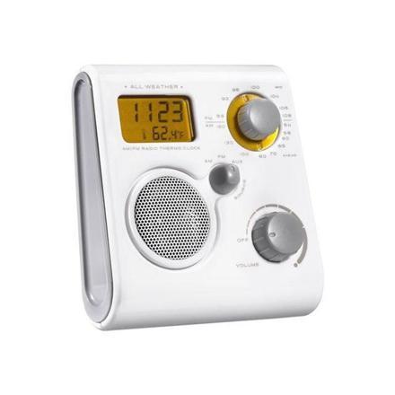 poste radio salle de bain