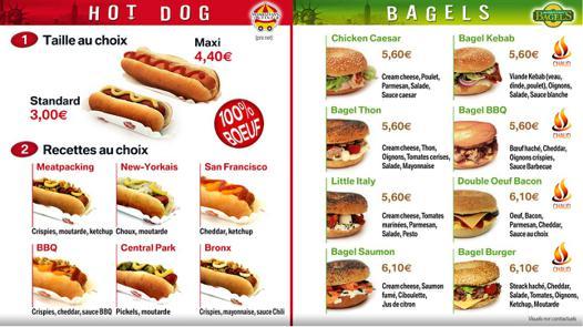 prix hot dog
