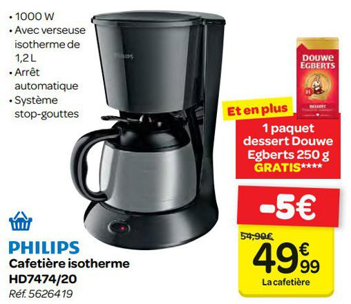 promotion cafetiere