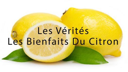 propriété du citron