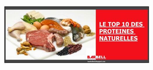 protéines naturelles