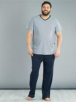 pyjama grande taille pour homme