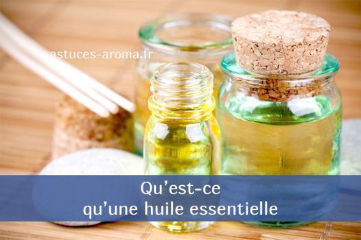 qu est ce qu une huile essentielle