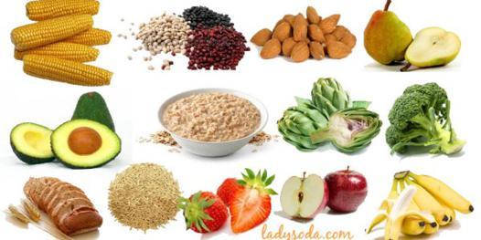 quels aliments contiennent des fibres