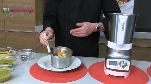 recette blender chauffant moulinex