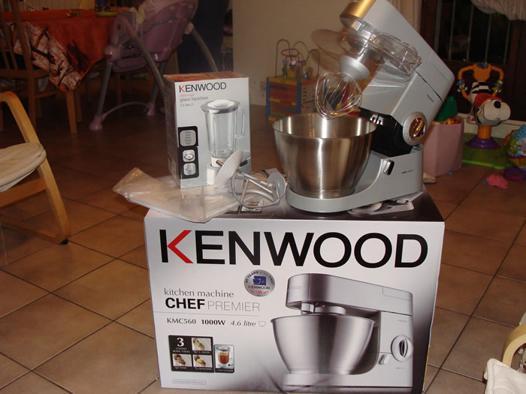 recette kenwood chef