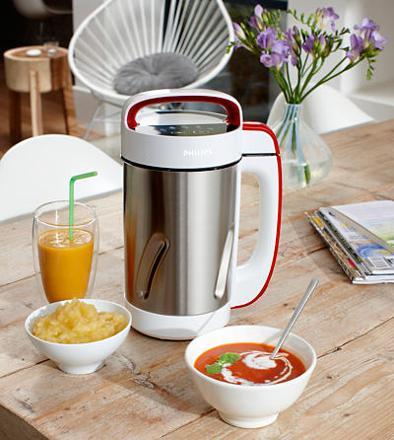 recette soupe blender chauffant