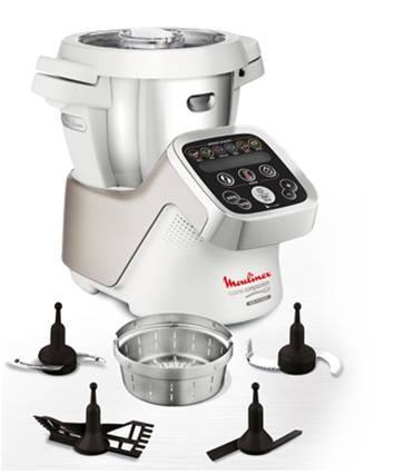 robot qui cuit et mixe
