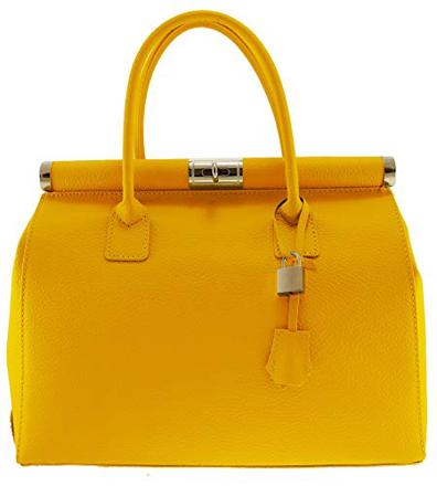 sac à main moutarde