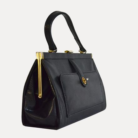 sac a main rigide en cuir
