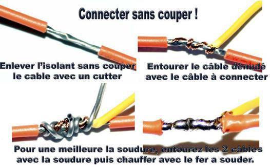 soudure etain fil electrique
