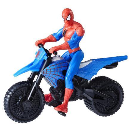 spiderman en moto