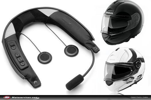 systeme de communication pour casque moto