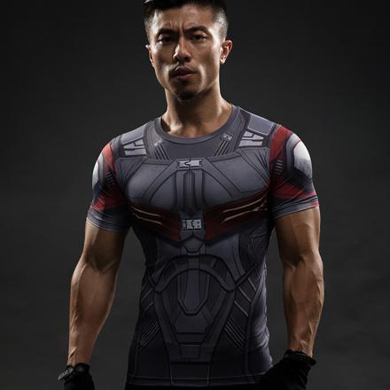 t shirt compression marvel