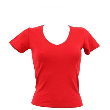 t shirt femme rouge