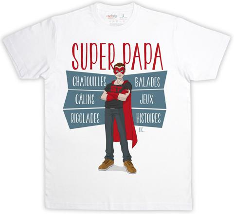t shirt meilleur papa
