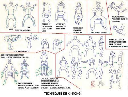 taichi mouvements