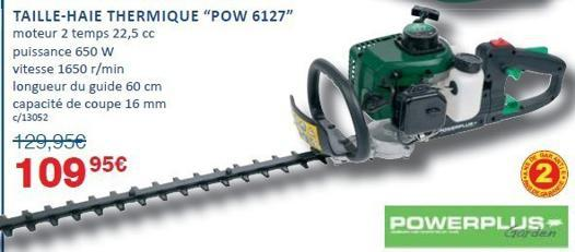 taille haie power plus