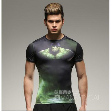 tee shirt compression homme