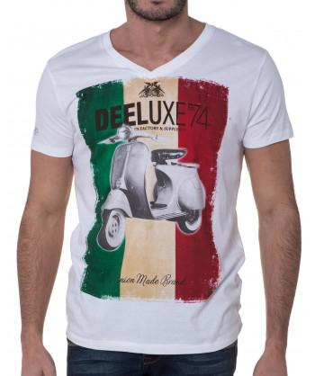 tee shirt italia homme