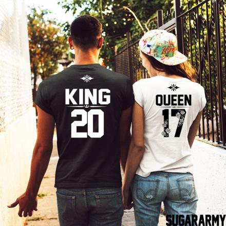 tee shirt queen et king