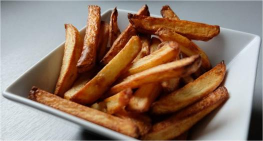temps cuisson frites actifry