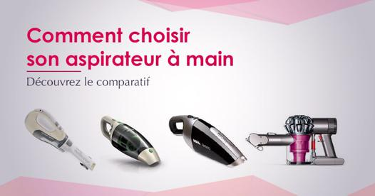 test aspirateur main