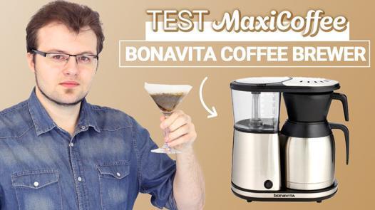 test cafetière filtre
