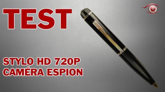 test camera espion