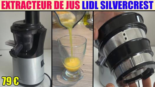 test extracteur de jus