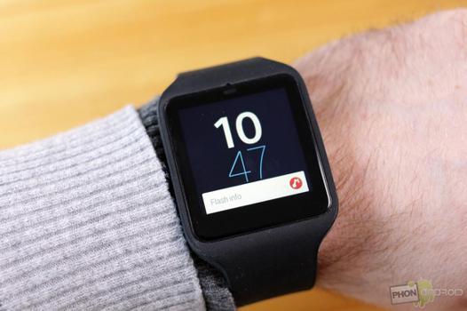test sony smartwatch