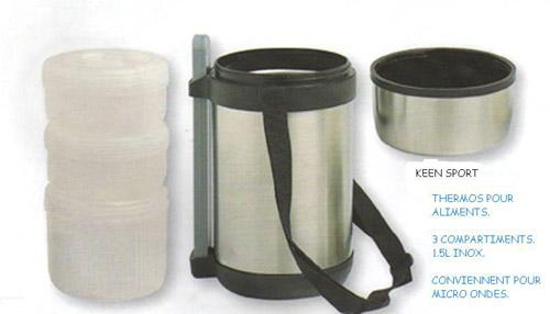 thermos alimentaire chaud