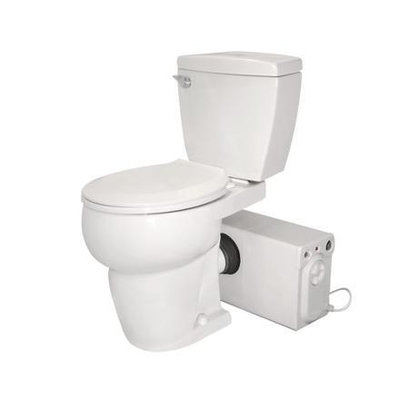 toilette avec pompe intégrée