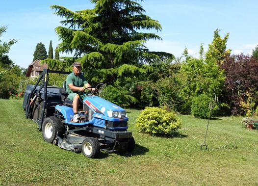 tracteur tondeuse grande surface
