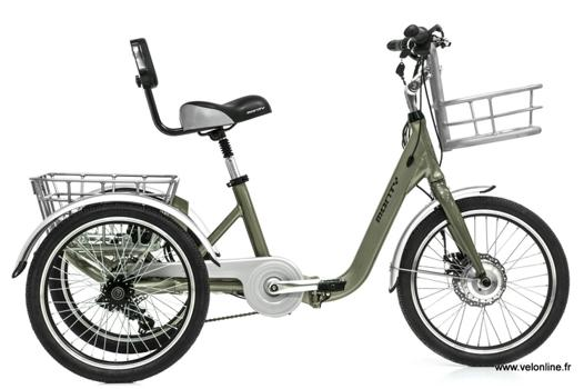 tricycle électrique adulte