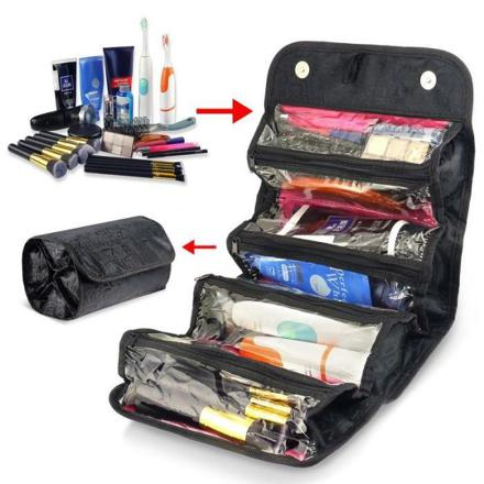 trousse de maquillage avec compartiments