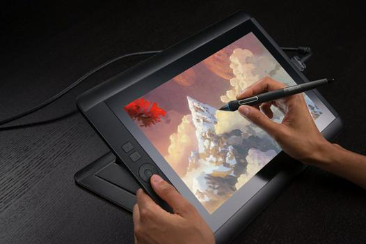 utilisation tablette graphique