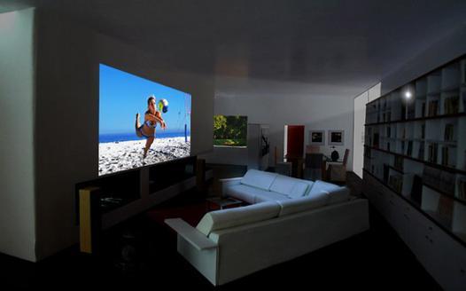 videoprojecteur comme tv